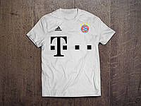 Клубная футболка Бавария, белая, ХБ, КП4