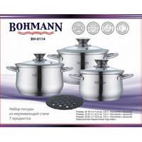 Набор посуды Bohmann BH-0114 (7 предметов)