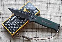 Тактический складной нож Browning 364 с клипсой+темляк+подарок!