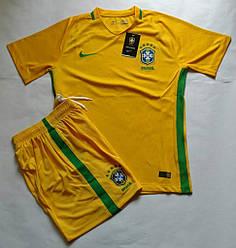 Футбольная форма  Бразилия  2016