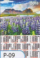 Календарь А2 (плакат) 620х430 мм Р-09