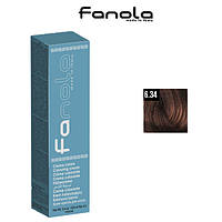 Крем-краска для волос 6.34 Fanola, 100ml