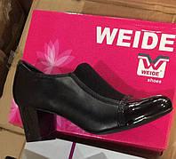 Женские туфли на толстом каблуке Размеры 36-41