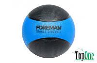 М'яч набивний FOREMAN Medicine Ball, 4 кг