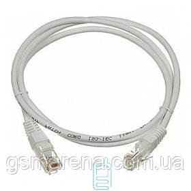 Патч-корд UTP 1.5m серый