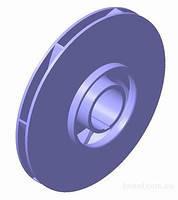 Рабочее колесо к насосу JET80/100 латунь (d-128/4/34mm)