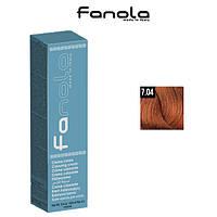 Крем-краска для волос 7.04 Fanola, 100ml