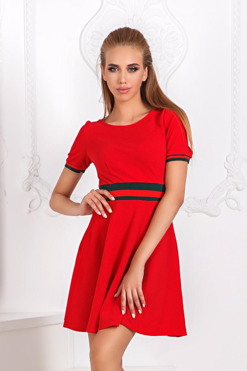 ДС1260 Платье клеш