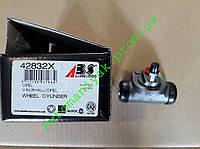 Задний тормозной цилиндр ABS 42832x (Opel Daewoo) диаметр 19 аналог TRW BWD119