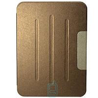 Чехол-книжка для Samsung Galaxy Tab 4 10.1 SM-T530 пластиковая накладка Folio Cover Бронзовый