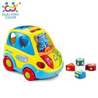 Игрушка-сортер Huile Toys Умный автобус 896