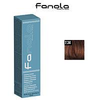 Крем-краска для волос 7.34 Fanola, 100ml