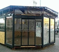 Автоматические двери Cuppon, Шаурма (г. Днепр) 05.05.2017