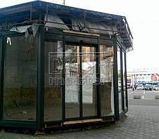 Автоматические двери Cuppon, Шаурма (г. Днепр) 05.05.2017 1