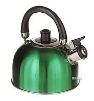 Чайник для плиты, 2,5 л Зеленый (1329)