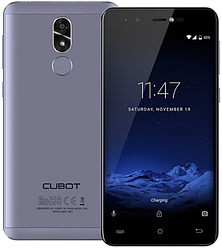 "Cubot R9 gray 2/16 Gb, 5"", МТ6580, 3G"