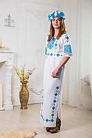 Платье вышиванка Ромбы
