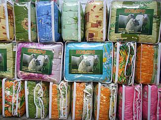 Ковдра шерстяна 190*210 Євро полікотон (2913) TM KRISPOL Україна, фото 2