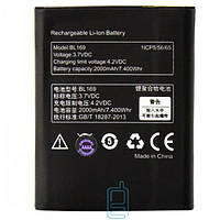 Аккумулятор Lenovo BL169 2000 mAh P70, A789, S560, P800 AAA класс