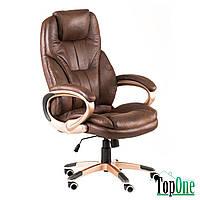 Офисное кресло для руководителя Special4You Bayron Dark Brown E1540