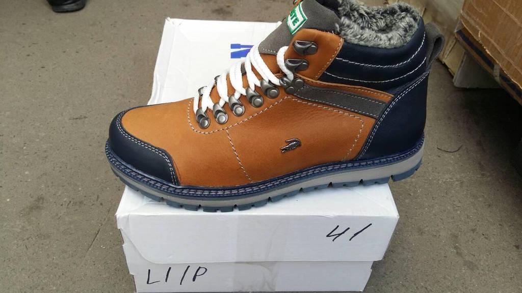 Мужские кожаные зимние ботинки Lacoste реплика  продажа, цена в ... bd3496dff54