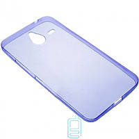 Чехол силиконовый цветной Nokia Lumia 640 XL фиолетовый