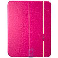 Чехол-книжка для Samsung Galaxy Tab 4 10.1 силиконовая накладка Lishen Розовый