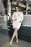 Платье туника 03583/1 48-50, персик