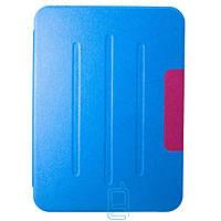 Чехол-книжка для Samsung Galaxy Tab 4 10.1 SM-T530 пластиковая накладка Folio Cover Голубой