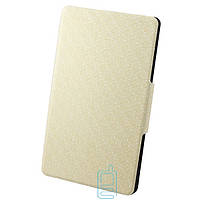 Чехол-книжка для Samsung Galaxy Tab S SM-T700 пластиковая накладка Узор Белый