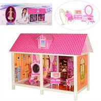 Кукольный домик для Барби 66882. С куклой и мебелью
