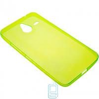 Чехол силиконовый цветной Nokia Lumia 640 XL зеленый