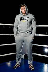 Спортивный тренировочный летний мужской  костюм Everlast (Еверласт)