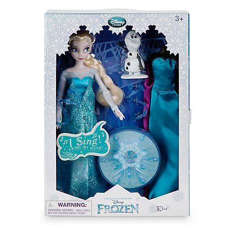 Кукла Эльза поющая Холодное сердце Дисней Elsa Singing Disney оригинал, фото 1