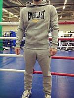 Серый спортивный  мужской костюм Everlast  (Еверласт)