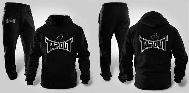 Спортивный летний мужской костюм Tapout (Тапаут) для тренировок