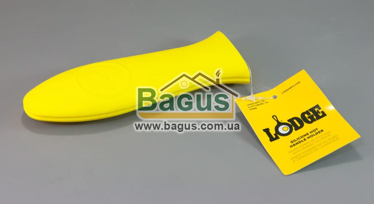 Силиконовая ручка для чугунной сковороды желтого цвета Lodge (США) ASHH21