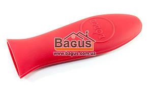 Силиконовая ручка для чугунной сковороды красного цвета Lodge (США) ASHH41