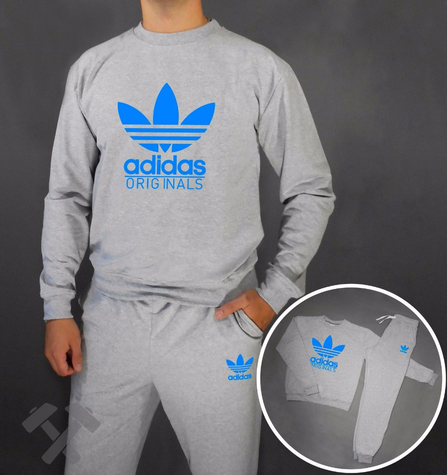 Літній чоловічий спортивний костюм для тренувань Adidas (Адідас)