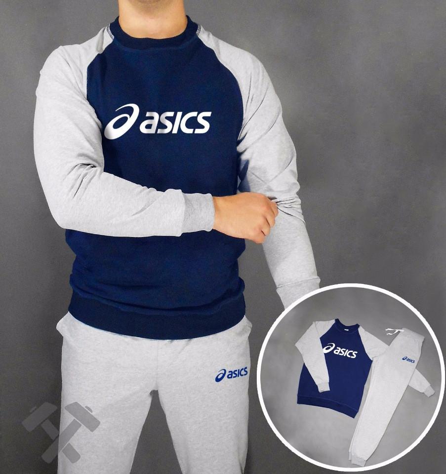 Тренировочный мужской летний споривный костюмAsics (Асикс)