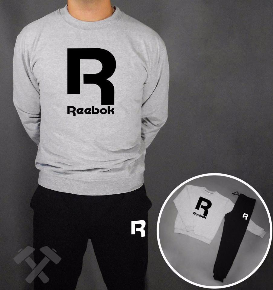 Спортивний чоловічий літній костюм Reebok (Рібок)