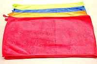 Полотенце из микро-фибры с крючком размер 50 см * 28 см. Рисунки могут отличаться .