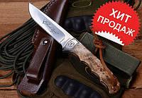 Охотничий нож Browning Whitetail Legacy 322525+кожаный чехол+темляк+подарок!