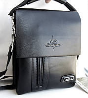 Небольшая мужская сумка Langsa 6725-2 с ручкой. Размер 22*17см   КС97