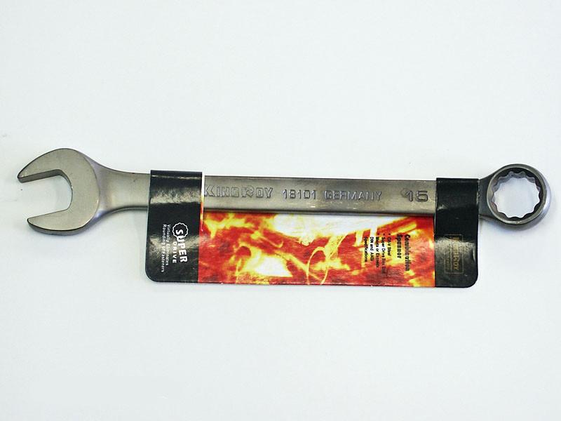 Ключ рожково-накидной King Roy 15мм