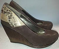 Туфли женские натуральная кожа р38-40 VITLEN угол ANITA