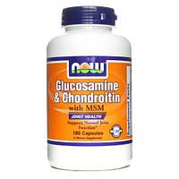 NOW Glucosamine Chondroitin MSM 180 капсул
