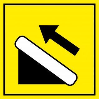 Наклейка Эскалатор подъемник