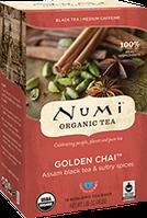 Чай ассам с пряностями «Золотой чай» Numi