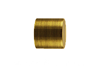 Заглушка Рулло для 19 мм на кованный карниз